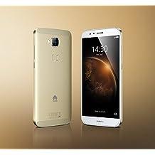 """Huawei G8 - Smartphone libre de 5.5"""" 32GB 4G (Qualcomm MSM8939 Octa Core a 1.5 GHz, 3 GB de RAM, 3 GB de memoria interna, Android),  color blanco y champagne"""