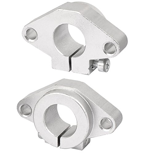 sourcingmap 2x SHF16 16mm Linear Lager Rod Schiene Schacht Halterung CNC-Fräser Durchmesser DE de (16 Mm Lineare Lager)