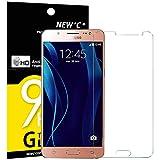 NEW'C Panzerglas Schutzfolie für Samsung Galaxy J5, Frei von Kratzern Fingabdrücken und Öl, 9H Härte, HD Displayschutzfolie, 0.33mm Ultra-klar, DisplayschutzfoliekompatibelSamsung Galaxy J5