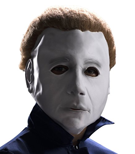 Michael Myers Maske mit Perücke für (Myers Kinder Michael Kostüm)