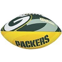Wilson F1534XB NFL Packers - Balón junior de fútbol americano