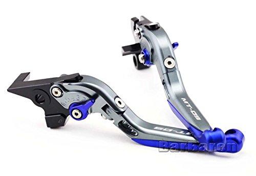 Motorrad Faltbare und Ausziehbare Brems-und Kupplungshebel Bremshebel Kupplungshebel Set für Yamaha MT-09 2014-2016 Test