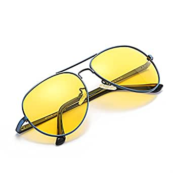 myiaur lunette soleil anti eblouissement conduite de nuit lunette verre jaune polaris e. Black Bedroom Furniture Sets. Home Design Ideas