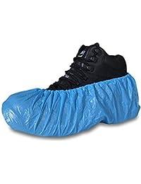 Shopee Blue Water Proof & Dust Resistance Disposable Plastic Shoe Cover(100 Pcs)
