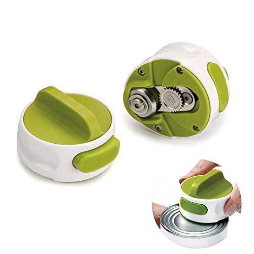 Teepao Abridor de latas eléctricas, abrelatas de Restaurante, Borde Liso automático con...