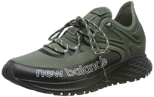 New Balance Fresh Foam Trail Roav, Zapatillas de Running para Asfalto para Hombre, Verde Green Green...