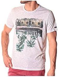 Sun Valley Tee Shirt Cedro Homme