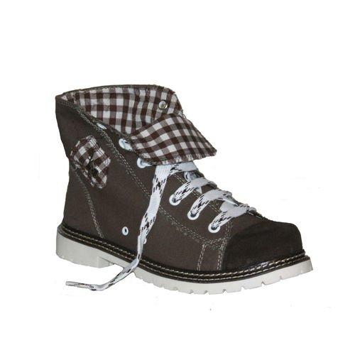 Trachten Herren Sneaker - JACK - braun/ruß/d-braun, Größe 43