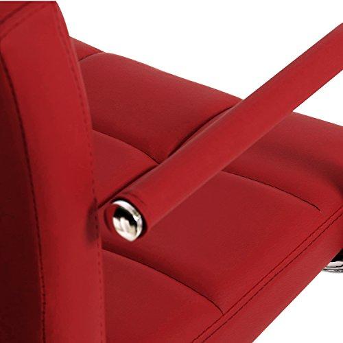 WOLTU BH16 Serie Design Barhocker mit Armlehne 2er Set - 4