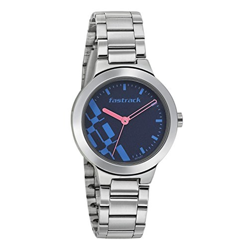 7d4322ca0 Buy Fastrack Women Analog Watch - NK6150SM03 (Blue) Online at Lowest ...