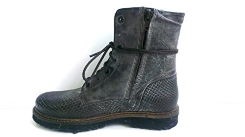 Yellow Cab Officer W, Bottines à doublure froide femme Marron