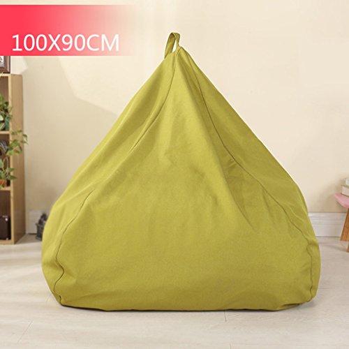Bean Bag Canapé Chambre Salon Salon Petit Appartement Lounger Chaise Creative 100 * 90cm (Couleur : Vert)