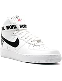 Nike AIR Force 1 HIGH Supreme SP 'Supreme' - 698696-100