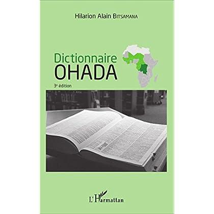 Dictionnaire OHADA: (3e edition)