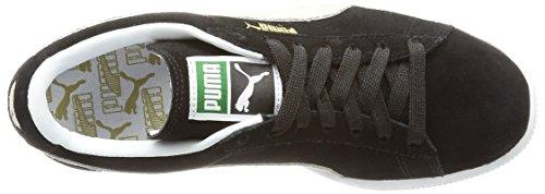 Puma Suede Classic+ Baskets montantes pour homme Noir (Black/White 03)