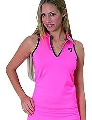 A40Grados Sport & Style Prisma - Polo para mujer, color rosa, talla 44