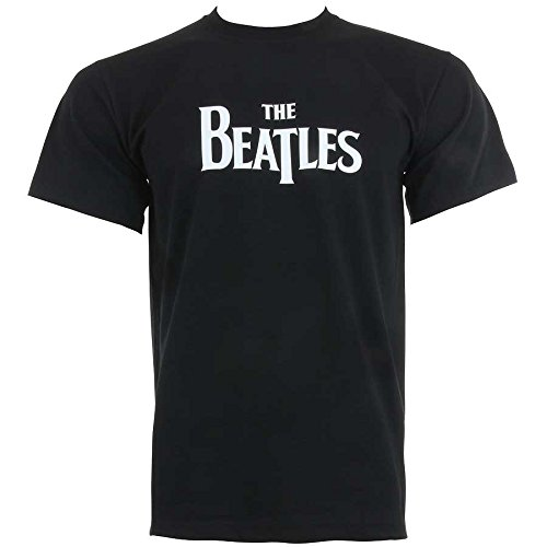 Spike Herren T-Shirt The Beatles Logo, schwarz, Gr. XXL -