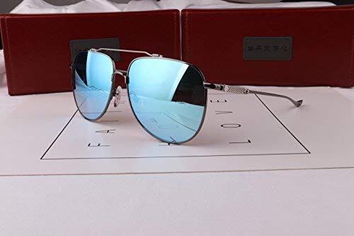 Die Sonne Spiegel männlich großen Rahmen das große Gesicht Fett beleben alte Bräuche die Sonnenbrille Kröte Fahrer die Sonne die Spiegel Fahren Gläser
