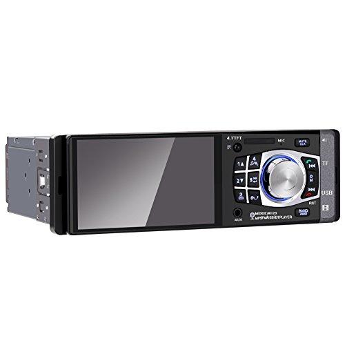 GHB 4.1'' Autoradio Bluetooth Audio Ricevitore Auto Lettore MP4/MP5 con Telecomando Supporto AUX Carta TF USB Radio FM [Versione Aggiornata]