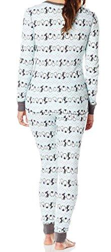 Ninety-One Damen Schlafanzug - PENGUIN STRIPE