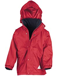 Result Junior/Youth Reversible Stormstuff Jacket, Impermeable para Niñas