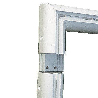 Sport-Thieme® Alu-Fußballtore, 7,32×2,44 m, eckverschweißt, in Bodenhülsen stehend Netzhalter - 2