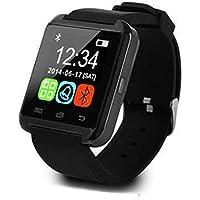 Riklos Montre Bracelet Intelligent USB Bluetooth Unisexe pour téléphone Portable, podomètre, Montre de Course, GPS