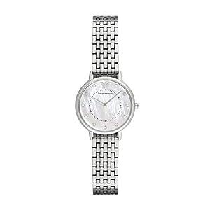 Emporio Armani Reloj Analogico para Mujer de Cuarzo con Correa en Acero