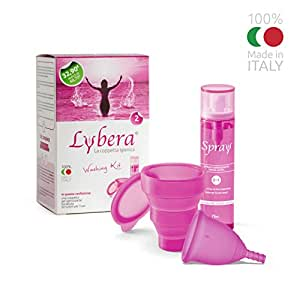 Menstrual cup the complete kit by lybera size 2 amazon - Diva cup italia ...