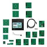 sdfghzsedfgsdfg XPROG programmazione 5,55 ECU programmatore auto sintonia del circuito integrato Strumento diagnostico riparazione auto Scanner Tools Soprattutto per BMW CAS4 Black & Verde