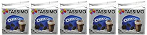 Find Tassimo Oreo 8 Servings 332 g (Pack of 5) by Mondelez