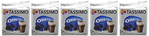Find Tassimo Oreo 8 Servings 332 g (Pack of 5) by Mondelez