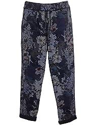 Damen Sweatpants Jogginghose mit Print, MADE IN ITALY