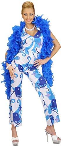 Kostüm-Set 70er-Girl, blau