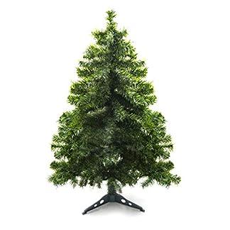Prextex Árbol de Navidad Abeto Canadiense Artificial Ligero de 120cm /Fácil de Ensamblar con Bisagras y Soporte para Árbol de Navidad