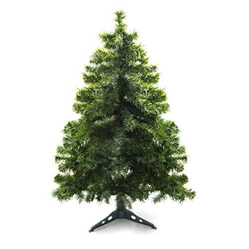 Prextex 120cm große hochwertige klappbare künstliche kanadische Fichte als Weihnachtsbaum, geringes Gewicht und Leichter Aufbau mit Christbaumständer