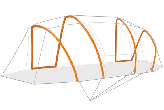 View larger · Kelty air pitch tent ...  sc 1 st  Amazon UK & Kelty Mach Airpitch Unisex Outdoor Tunnel Tent available in Grey ...