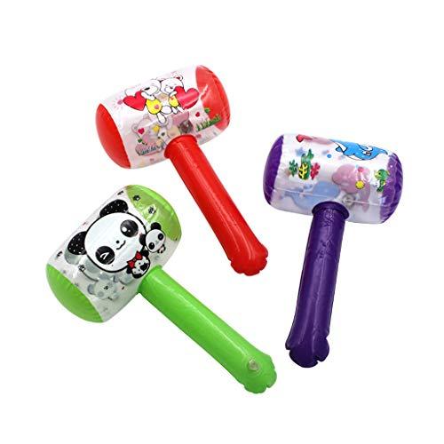 Lamdoo Aufblasbare Hammer Mit Bell Air Hammer Baby Spielzeug Kinder Spielzeug Party Favors Aufblasbare Spielzeug Pool Strand Spielzeug