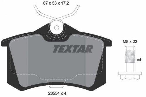TEXTAR 2355402-23554 172 1 4 Pastiglie