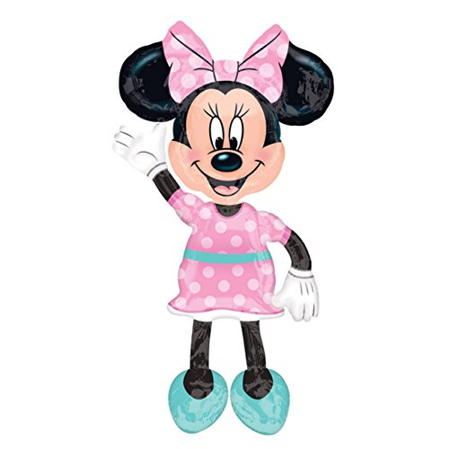 Amscan International – 3433101 de globos de Minnie Mouse