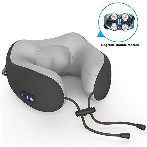 BELIEVE Nackenmassagegerät Shiatsu Massagegerät Mit Wärmefunktion Elektrisch Nacken Schulter Massage Kissen Mit Kneten und Vibration für Haus Büro Reisen