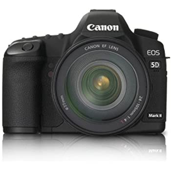 Canon EOS 5D Mark II 21.1MP Digital SLR Camera (Black) with EF 24-105 Kit Lens, Memory Card, Camera Bag