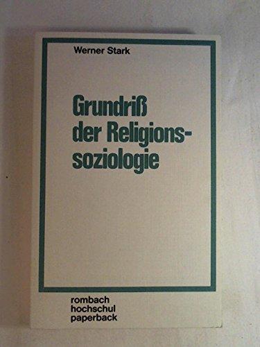Grundriß der Religionssoziologie