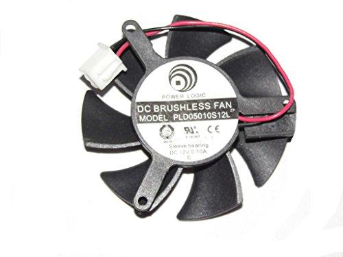 Puissance Logic 45mm pld05010s12l 12V 0.1A 2fils Vidéo Ventilateur 39* * * * * * * * * * * * * * * * 3939