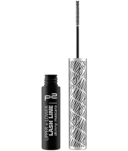 p2 cosmetics Upper + Lower Lash Line Skinny Mascara, 3er Pack (3 x 4 ml) -