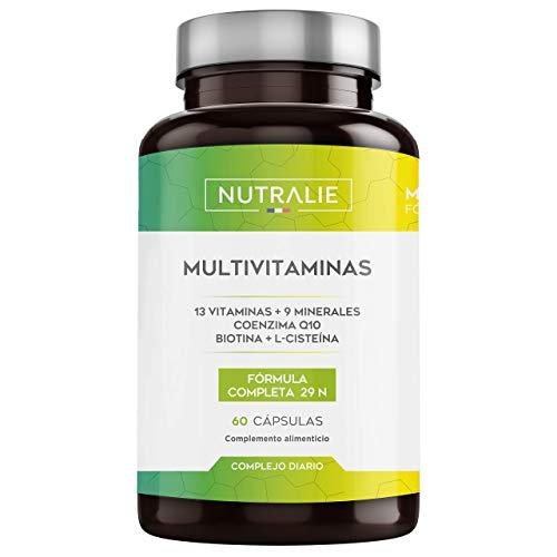 Multivitaminas 29 Nutrientes Esenciales | Vitaminas A, B, C, D, E, K,