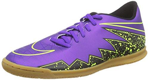 Nike - Hypervenom Phade Ii Ic, Scarpe da calcio Uomo Viola (Violett (Hyper Grape/Hypr Grape-Blk-Vlt 550))