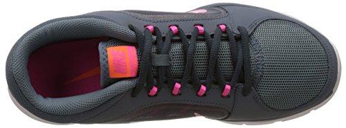 Nike Wmns Flex Trainer 4 - Sneaker pour femme Bl Grpht/Pnk Pw-Clssc Chrcl-Tt