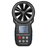 BTMETER Digital Anemometer Wind Speed Meter Weather Meter Wind Speed/Temperature Meter APP Control for Mobile Phone