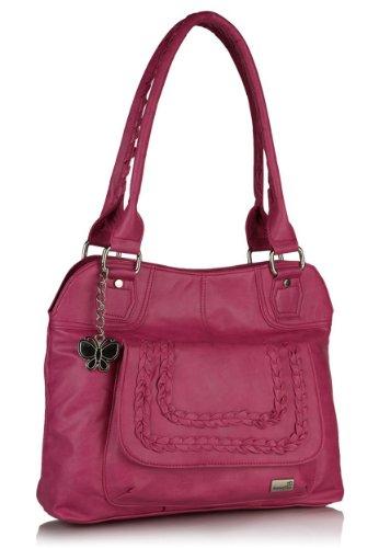Butterflies Handbag (Pink)(BNS 0330)